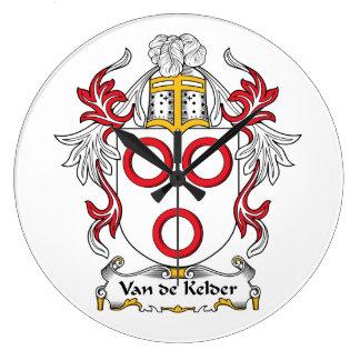 Escudo de la familia de Van de Kelder Relojes