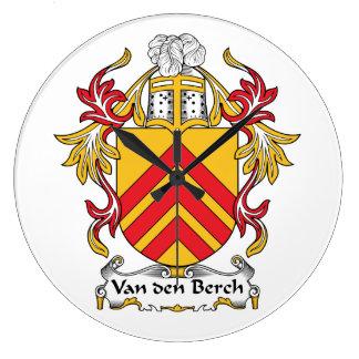 Escudo de la familia de Van den Berch Reloj