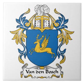 Escudo de la familia de Van den Bosch Azulejo