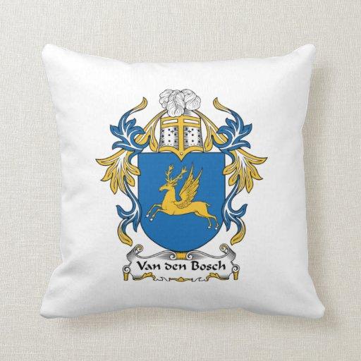 Escudo de la familia de Van den Bosch Cojin