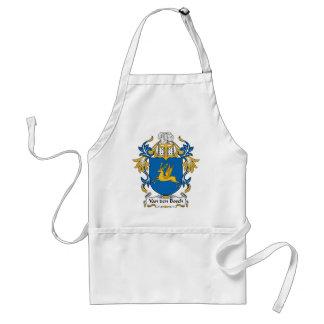 Escudo de la familia de Van den Bosch Delantales