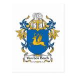 Escudo de la familia de Van den Bosch Tarjetas Postales