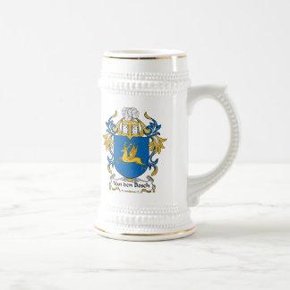 Escudo de la familia de Van den Bosch Tazas