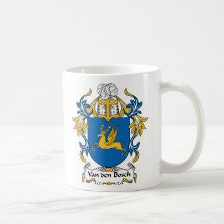 Escudo de la familia de Van den Bosch Taza De Café