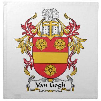 Escudo de la familia de Van Gogh Servilletas