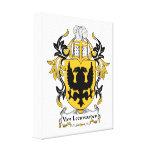 Escudo de la familia de Van Leeuwarden Impresion En Lona