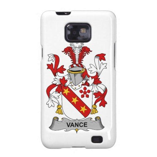 Escudo de la familia de Vance Galaxy S2 Funda