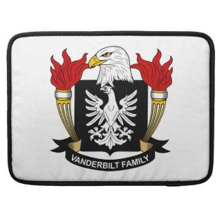 Escudo de la familia de Vanderbilt Fundas Para Macbook Pro