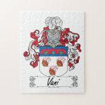 Escudo de la familia de Vani Puzzle Con Fotos