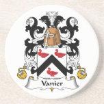 Escudo de la familia de Vanier Posavasos Manualidades