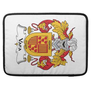 Escudo de la familia de Vara Funda Para Macbooks