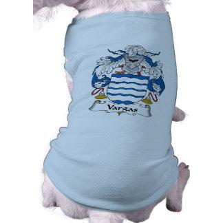 Escudo de la familia de Vargas Camisas De Mascota