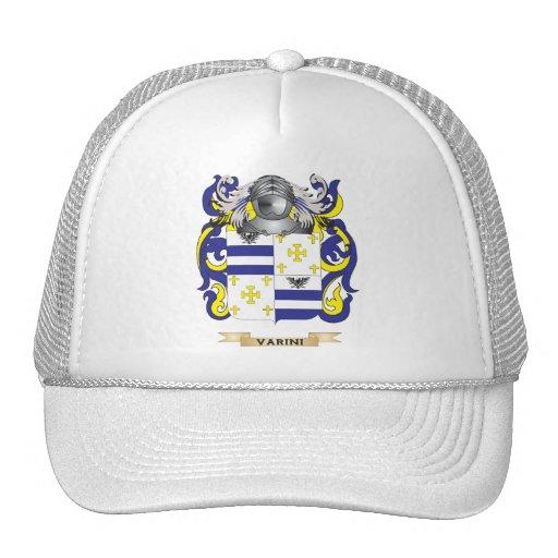 Escudo de la familia de Varini (escudo de armas) Gorras De Camionero