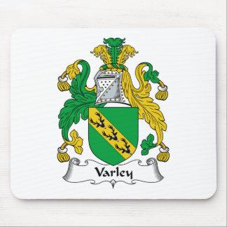 Escudo de la familia de Varley Alfombrillas De Ratones