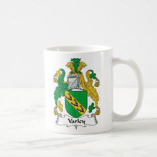 Escudo de la familia de Varley Taza Básica Blanca