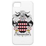 Escudo de la familia de Vasconcelos iPhone 5 Case-Mate Protectores
