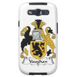 Escudo de la familia de Vaughan Galaxy S3 Cárcasas