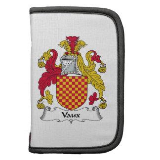 Escudo de la familia de Vaux Organizadores