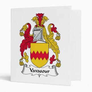 Escudo de la familia de Vavasour
