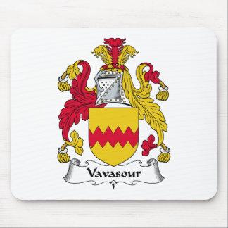 Escudo de la familia de Vavasour Tapete De Raton