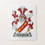 Escudo de la familia de Veale Rompecabezas