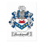 Escudo de la familia de Vecchiarelli Postales