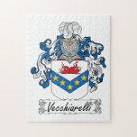 Escudo de la familia de Vecchiarelli Rompecabeza