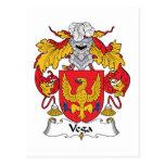 Escudo de la familia de Vega Postal