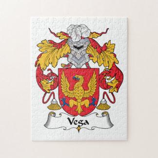 Escudo de la familia de Vega Puzzle