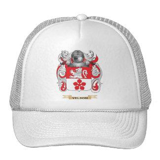 Escudo de la familia de Veldon (escudo de armas) Gorros