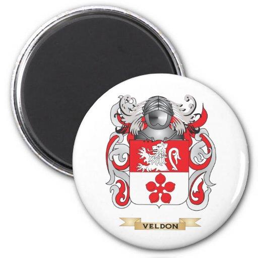 Escudo de la familia de Veldon (escudo de armas) Iman