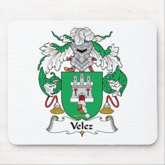 Escudo de la familia de Velez Alfombrilla De Ratón