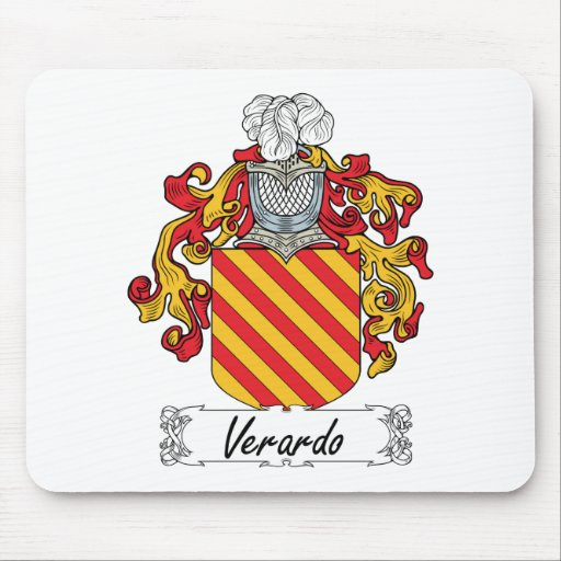 Escudo de la familia de Verardo Tapetes De Ratón