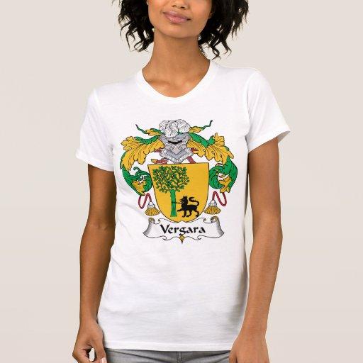 Escudo de la familia de Vergara Camisetas