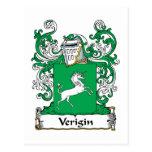 Escudo de la familia de Verigin Postal