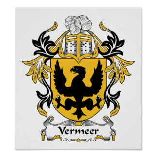 Escudo de la familia de Vermeer Impresiones