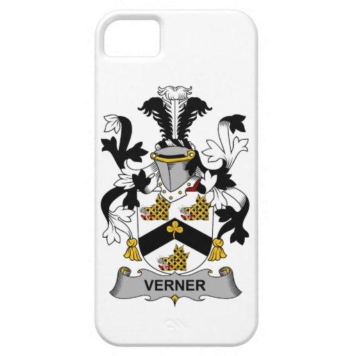Escudo de la familia de Verner iPhone 5 Carcasa