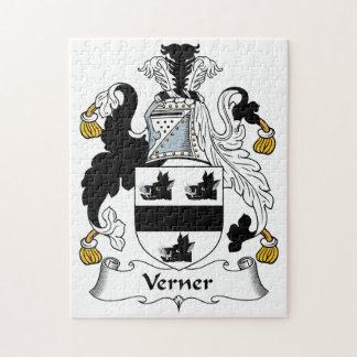 Escudo de la familia de Verner Rompecabezas