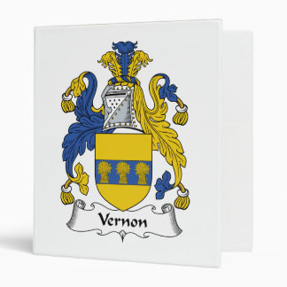 "Escudo de la familia de Vernon Carpeta 1"""