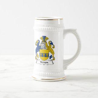 Escudo de la familia de Vernon Jarra De Cerveza