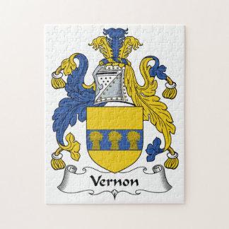 Escudo de la familia de Vernon Puzzles Con Fotos