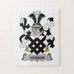 Escudo de la familia de Vernon Rompecabezas