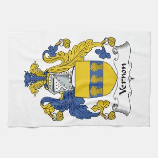 Escudo de la familia de Vernon Toalla