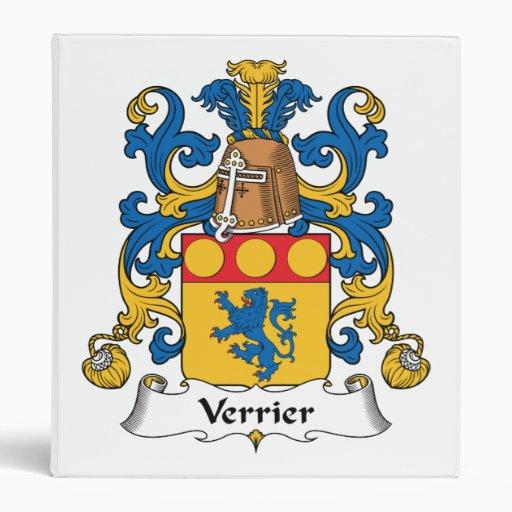 "Escudo de la familia de Verrier Carpeta 1"""