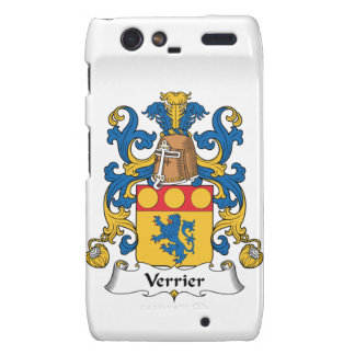 Escudo de la familia de Verrier Droid RAZR Funda