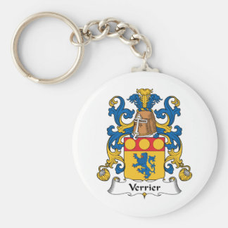 Escudo de la familia de Verrier Llavero