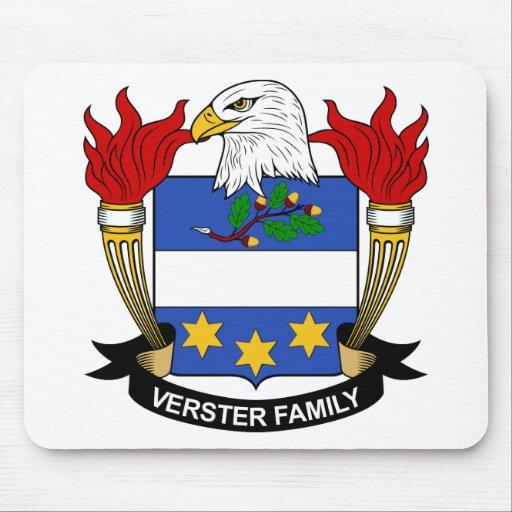 Escudo de la familia de Verster Tapetes De Ratones