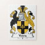 Escudo de la familia de Vescy Puzzle