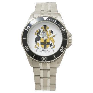 Escudo de la familia de Vescy Reloj