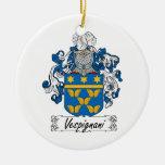 Escudo de la familia de Vespignani Ornato